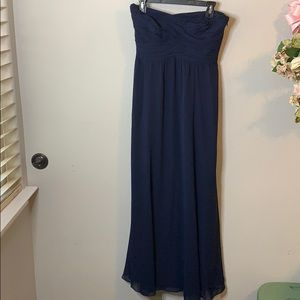 Lauren by Ralph Lauren Strapless Evening Gown